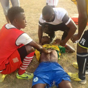 Ex-Ghana youth star Sadick Adams turns life saver, resuscitates BA United youngster Ebenezer Badu