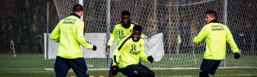 VIDEO: Watch Godfred Donsah and his Bologna teammates train hard to face AC Milan