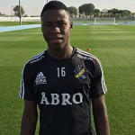 New Edubiase's talented 16-year-old Godfred Asiamah invited to AIK Stockholm's pre-season camp in Dubai