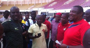 Employment and Labour Relations minister Haruna Iddrisu supports Ghana's U17 with cash