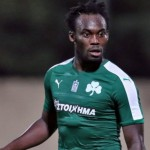 VIDEO: Watch Michael Essien score debut goal with a powerful volley for Panathiniakos