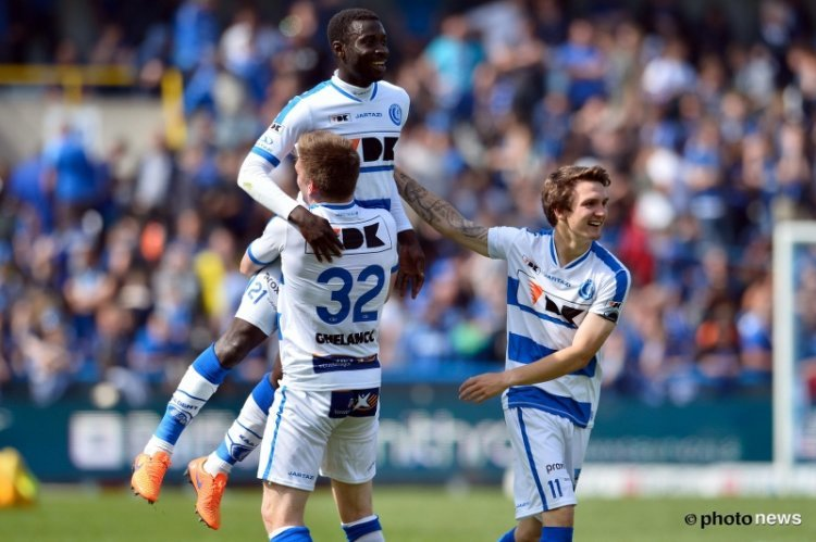 Ghanaian defender Nana Asare close to reaching Belgian Cup final with Gent