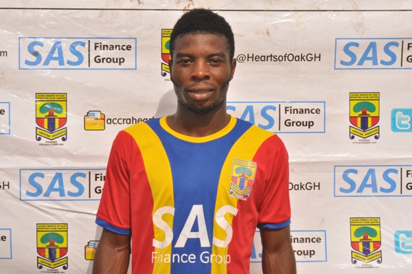 CONFIRMED: Asante Kotoko sign former Hearts of Oak winger Ollenu Ashitey on two-year deal