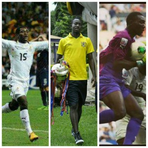 Eric Opoku, Kennedy Ashia and Richard Ofori vie for SWAG GPL Player of the Year