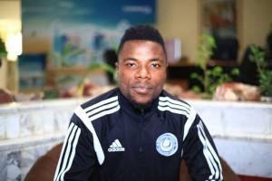 Former Asante Kotoko defender Abeiku Ainooson wishes Kotoko well ahead of Sunday's game against FK Jagodina