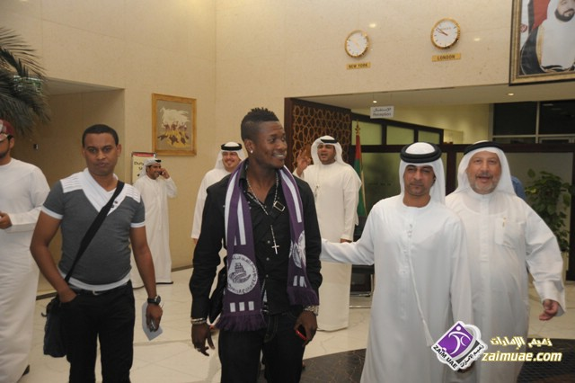 Black Stars captain Asamoah Gyan donates rice, cash to support 2016 Sheikh Sharubutu Ramadan Cup