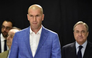 Real Madrid new coach Zidane promises to give his 'ALL' for Madrid to win something this season