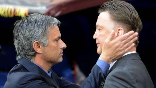 Louis van Gaal Dismisses 'Nonsense' Rumours of Mourinho's Move to Manchester United