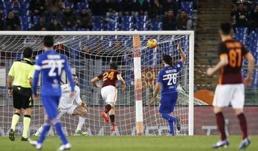 Player Ratings: Roma 2-1 Sampdoria
