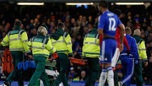 Chelsea defender Kurt Zouma to miss SIX MONTHS after ACL injury confirmed