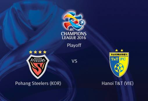 AFC Champions League PO: Pohang Steelers 3-0 Hanoi T&T