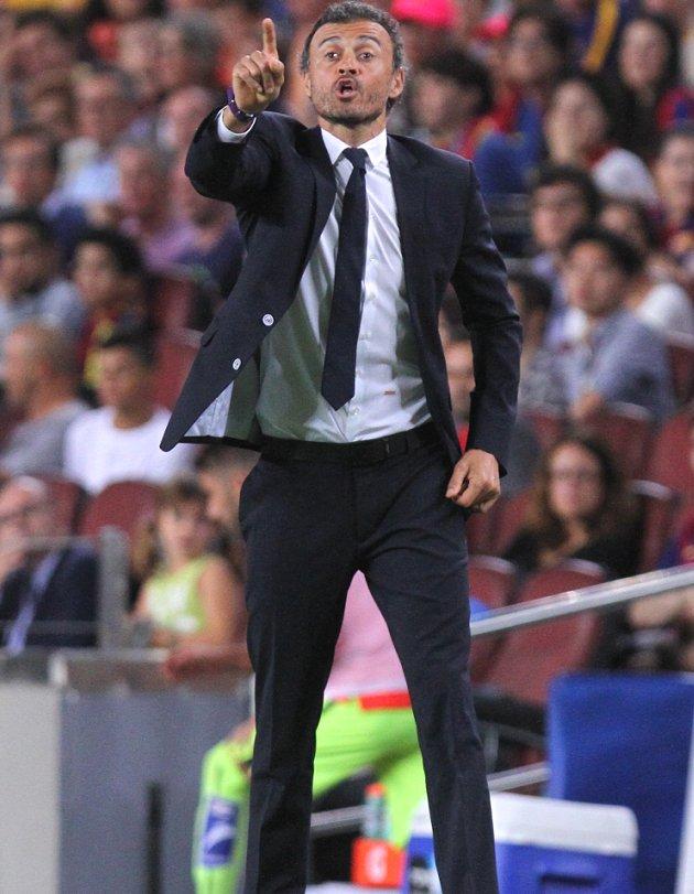 Barcelona boss Enrique: I do not see Guardiola at Man City as a menace