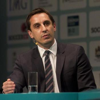 Gary Neville remaining calm