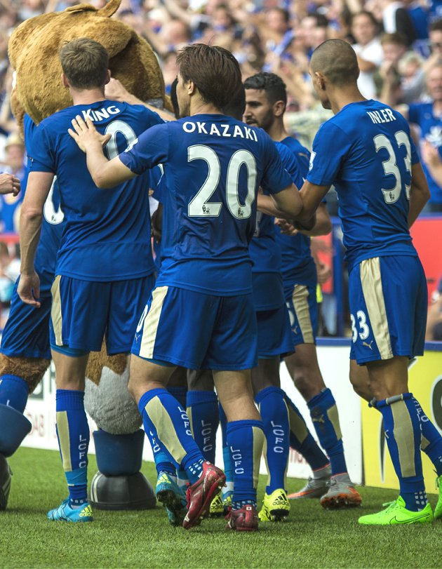 ​No pressure for Ranieri and League leaders Leicester