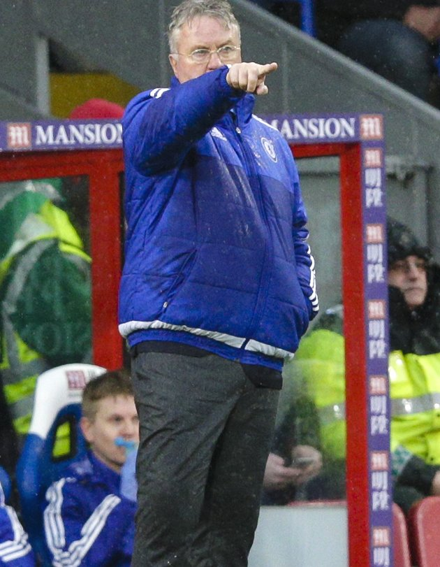 Hiddink pushed about his and Terry\'s Chelsea futures