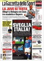 Gazzetta, Tuttosport And Corriere Dello Sport Headlines: 19th February 2016