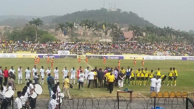 CAF Champions League: AshantiGold sneak past ten-man MO Bejaia 1-0 in Obuasi