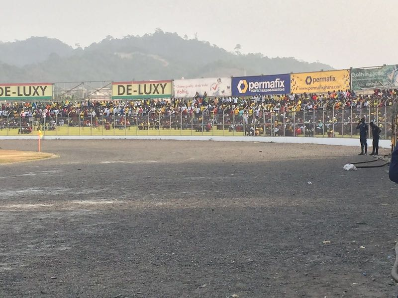 PHOTOS: AshantiGold record biggest crowd at the Len Clay in 19 years during MO Bejaia clash