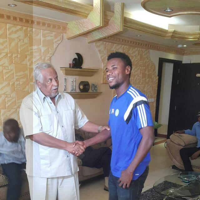 Al Hilal defender Abeiku Ainooson already feels at home in Sudan