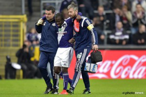 Frank Acheampong picks up calf injury, doubtful for Anderlecht clash against Zulte-Waregem on Saturday