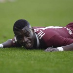 Torino midfielder Afriyie Acquah out of action for four weeks with thigh injury