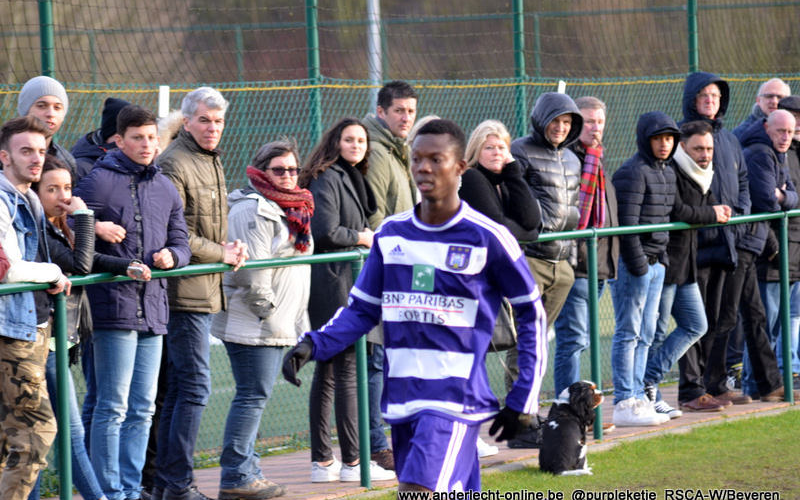 Ghanaian youngster Emmanuel Sowah Adjei debuts for Anderlecht U19 side