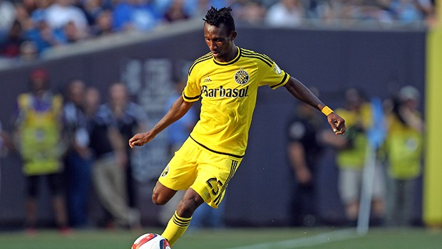 VIDEO: Harrison Afful shows dancing moves during Columbus Crew photoshoot