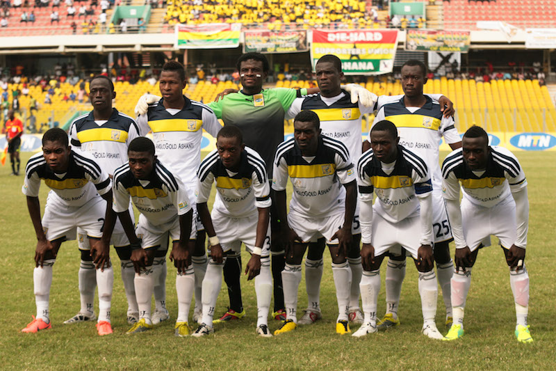 AshantiGold prepare for MO Bejaia clash with win over Samartex in friendly