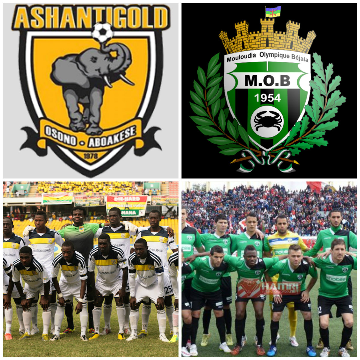 FULL TIME: CAF Champions League –AshGold 1-0 M.O Bejaia