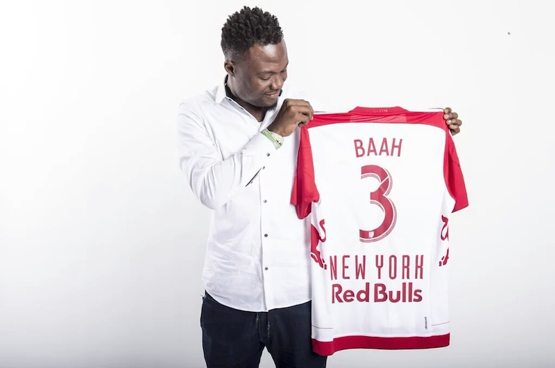 PHOTOS: Gideon Baah unveiled as New York Red Bulls signing