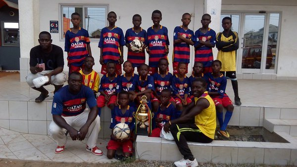 FC Barca Kids of Accra replicate FC Barcelona philosophy in Ghana