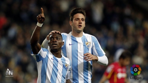Ghana star Christian Atsu scores on Malaga debut in La Liga triumph