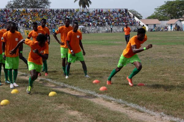 PHOTOS: Dreams FC warm up session ahead of Ghana Premier League debut