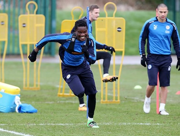 Ghana defender Daniel Amartey plays in Leicester City U21 loss