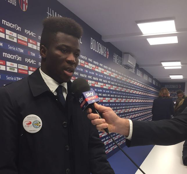 Draw with Fiorentina will boost our survival chances- Bologna star Donsah