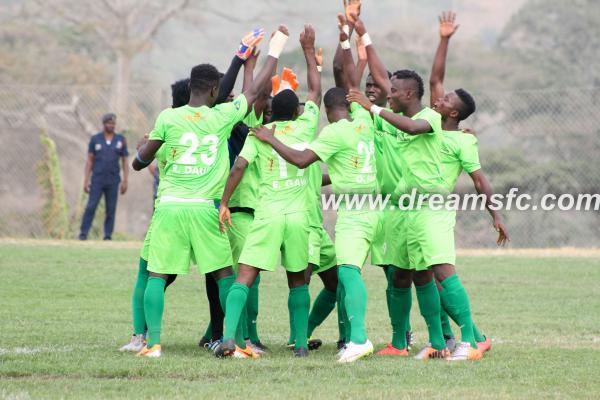 Match Report: Dwarfs 0-1 Dreams - Debutantes cruise with vital away triumph