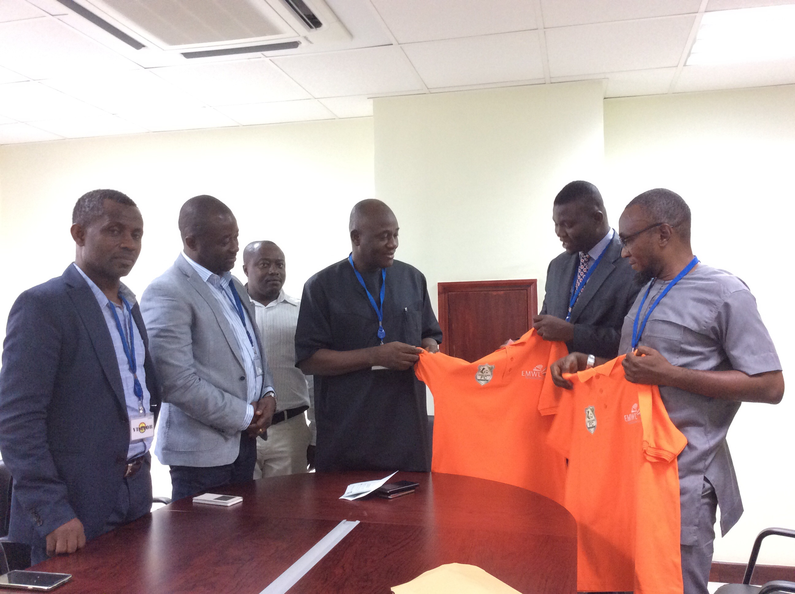 Okere MP Pledges support for newcomers Dreams FC