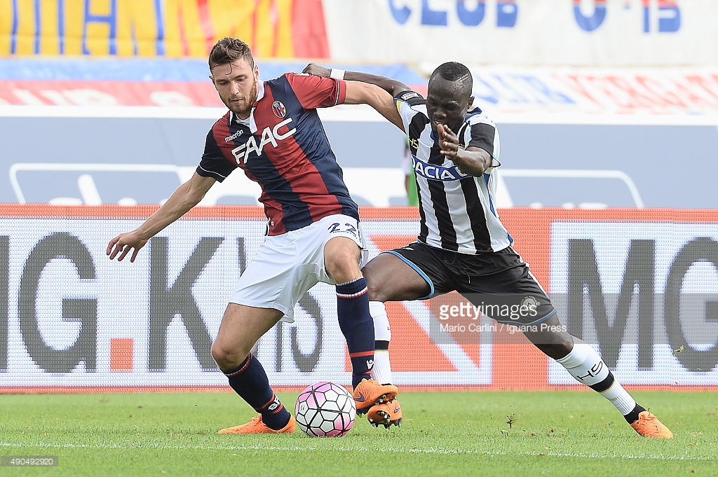 Udinese lose Ghana star Agyemang-Badu to suspension for Bologna visit in Serie A