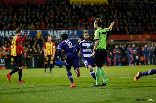 VIDEO: Watch Ghana winger Frank Acheampong score his debut league goals for Anderlecht in Belgium