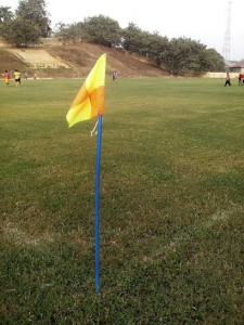 PHOTOS: Tarkwa and Aboso pitch undergoes re-grassing ahead of Medeama's new season