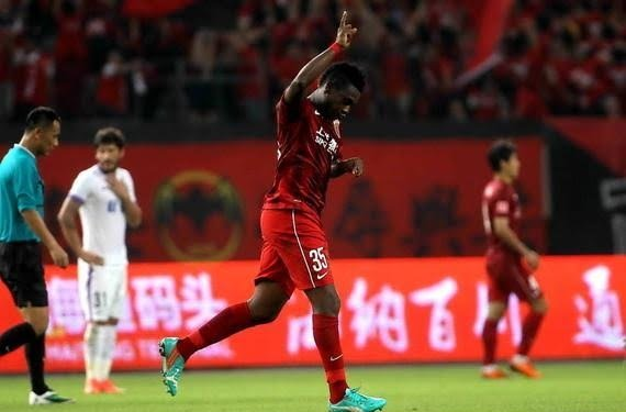Asamoah Gyan fires blank in Shanghai SIPG big win in Asian Champions League qualifier