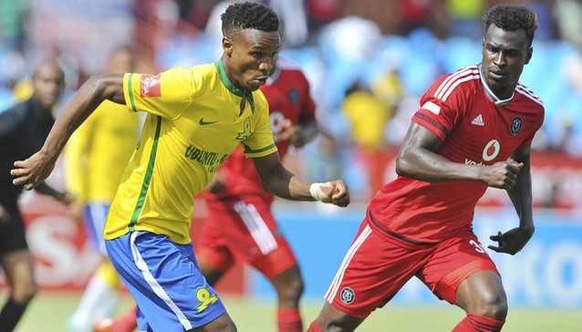 Ghana defender Edwin Gyiman plays full throttle but the Bucs suffer defeat to Sundowns