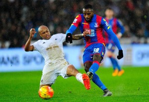 Crystal Palace top stars take to twitter to urge Ghanaian midfielder Hiram Boateng to stay