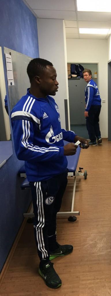 German giants Schalke sign hugely talented Ghanaian striker Bernard Tekpetey