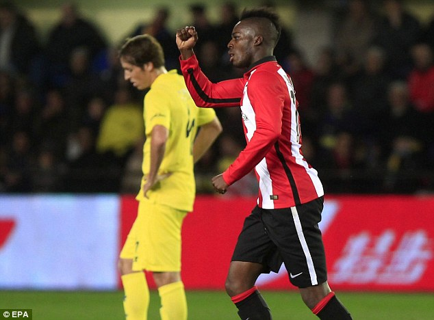 VIDEO: Ghana-target Inaki Williams sent off in Athletic Club stalemate in Spain