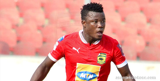 Asante Kotoko confirm crocked midfielder Jackson Owusu ruled out of season
