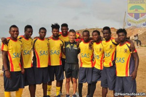 Hearts coach plays down Ifeanyi Ubah friendly win; insists Al Ahly Tripoli second game loss is their best game