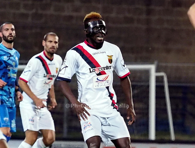 Casertana midfielder Daniel Kofi Agyei returns to action after two-month layoff