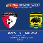 Preview: WAFA SC attempt to halt 'pre-season champions' Asante Kotoko in league opener