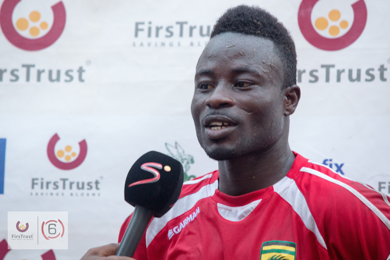 Medeama SC forward Kwame Boateng targets GPL goal king crown